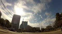 Dowtown Tampa S on Tampa Street Stock Footage