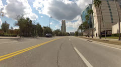 POV Time Lapse Leaving Tampa 2 minutes Stock Footage