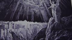 Gravure - Apocalypse -  Angel - Dürer Stock Footage