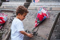 US Navy Memorial in Memorial Day 2013, Washington DC, USA - stock photo