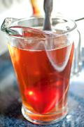 Iced tea pitcher Stock Photos