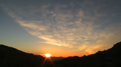 Desert Sunrise Time Lapse in Joshua Tree - stock footage