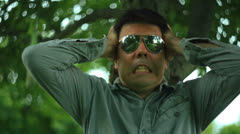 Frustrated frustration Stock Footage