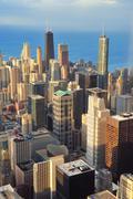 Chicago ilmakuva Kuvituskuvat