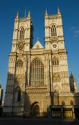 The towers of westminster abbey Stock Photos