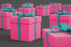 Gifts. - stock illustration