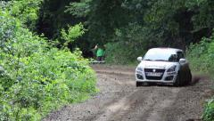 Delta Rally Stock Footage