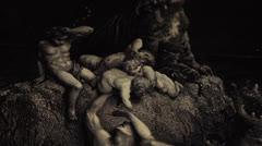 Gravure - Apocalypse -  Dürer Stock Footage