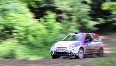 Delta Rally - stock footage