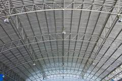 Roof of modern storehouse Stock Photos