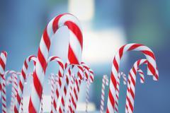 Christmas candies. Stock Illustration