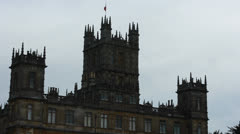 HigHighclere Castle 4 Stock Footage