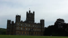 Highclere Castle 3 Stock Footage