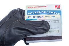 Identity theft. Stock Photos