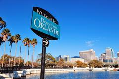 Orlando lake lucerne Stock Photos