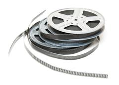 Aluminium reel of film Stock Photos