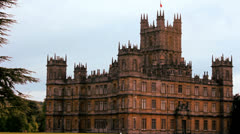 Highclere Castle 9 Stock Footage