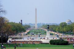 national mall, washington dc. - stock photo