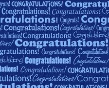 Congratulations Stock Illustration