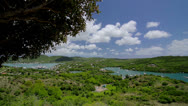 Stock Video Footage of View at the historic English Harbor of Antigua 1