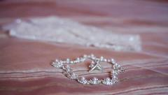 bride accessories - stock footage