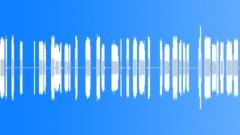Transmission noise - sound effect