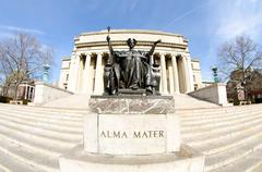 Alma Mater - stock photo