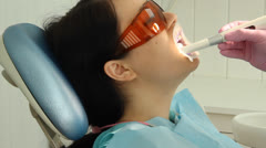 Stock Video Footage of In the dental office. dentistry