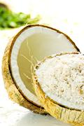 Ripe coconut Stock Photos