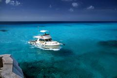 Cozumel Blue Water - stock photo