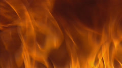 Burning fire, flames - full screen Stock Footage