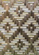 bamboo wooden texture - stock photo