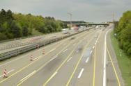 Frankfurt Autobahn 6K native Stock Footage