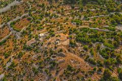 Dalmatia aerial Stock Photos