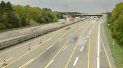 Frankfurt autobahn 4K - stock footage