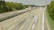 Frankfurt autobahn HD Stock Footage