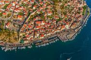 Stock Photo of Sibenik aerial