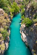 Rafting in the green canyon, alanya, turkey Stock Photos