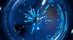 Electric Shock Plasma Ball - stock footage