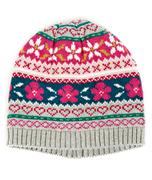 Warm knitted cap Stock Photos