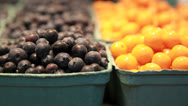 Stock Video Footage of Array of fresh fruit