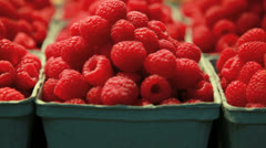 Array of fresh fruit  - stock footage
