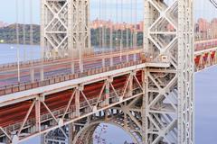 george washington bridge - stock photo