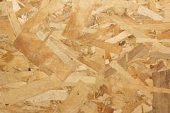 Particle board  wooden panel background Stock Photos