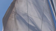 Stock Video Footage of Sails waving in the wind
