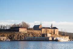 Stock Photo of kershus fortress oslo norway