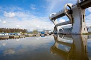 Stock Photo of falkirk wheel