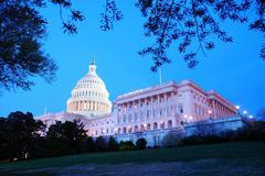 Us capitol hill closeup, washington dc Stock Photos