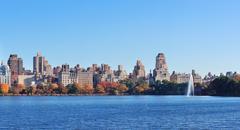 New york city autumn Stock Photos