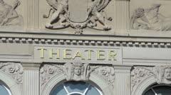Historic theater Stock Footage